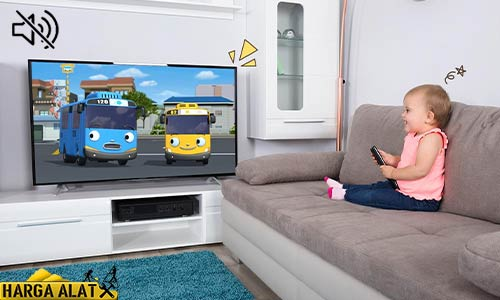 TV Sharp Aquos Tidak Ada Suara Penyebab Mengatasi