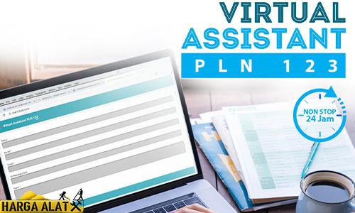 1. Menggunakan Virtual Assistant PLN 123