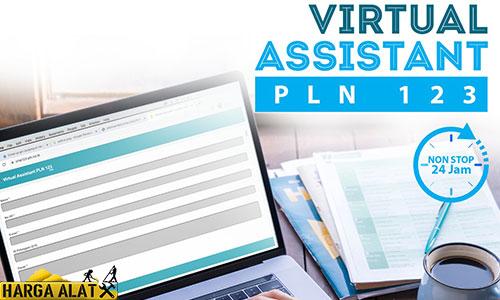 1. Pengaduan via Virtual Assistant PLN