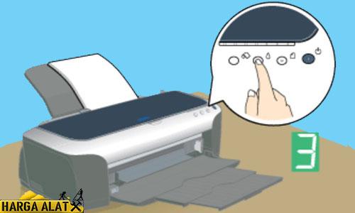 2. Cleaning Epson L360 Manual Tanpa Komputer