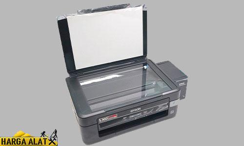 4. Cleaning Epson L360 Untuk Macintosh