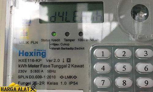 Cara Cek Sisa kWh Token Listrik