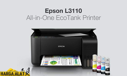 Cara Cleaning Printer Epson L3110