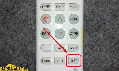 12. Arti Simbol Quiet Remote AC Changhong