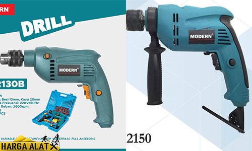 Perbedaan Bor Modern M2130 dan 2150